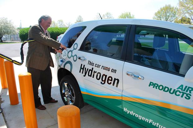 L'hydrogène dans les batteries au Lithium des voitures électrique
